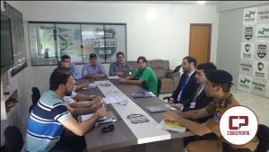 Mais uma importante etapa foi concretizada para implantação do Sistema de Videomonitoramento em Ubiratã