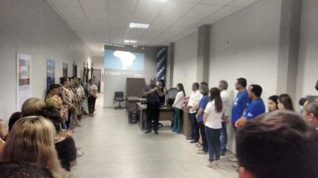Prefeito Baco prestigia inauguração da Unicesumar em Ubiratã