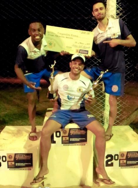 Ubiratã Vôlei de Praia não decepciona e é campeão novamente no Mato Grosso do Sul