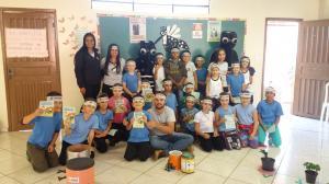 DENGUE:Equipe de endemias realizou atividades de conscientização em escolas municipais e centros de educação infantil