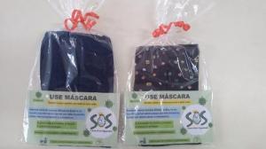 S.O.S Cicero Nuto Figueiredo produz máscaras para seus alunos e familiares e faz conscientização em Ubiratã