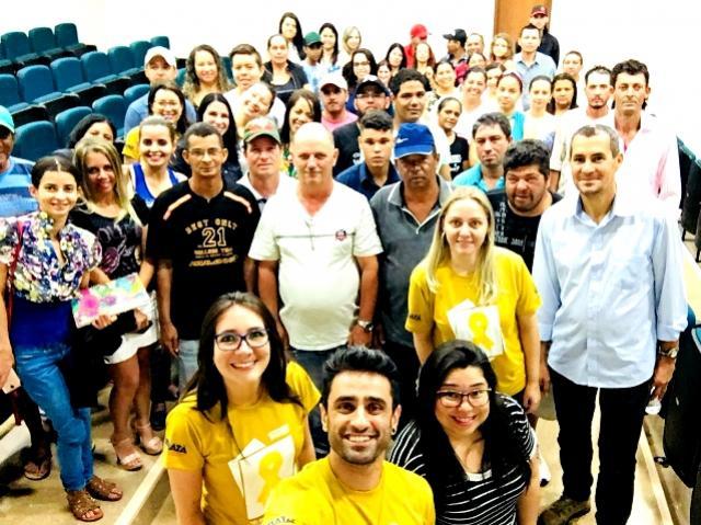 No Mês Setembro Amarelo a  administração municipal de Ubiratã realiza palestra pela valorização da vida