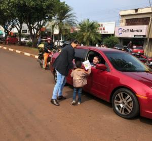 CMEI Nosso Lar em Ubiratã realiza atividades com o tema conscientização do trânsito