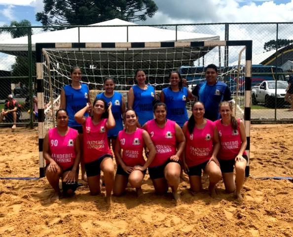 Ubiratã participou da 1ª etapa do Campeonato Paranaense de Handebol de Areia