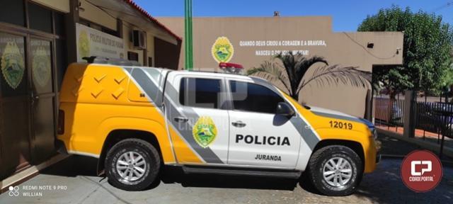 Polícia Militar cumpre mandado e prende uma pessoa em Juranda