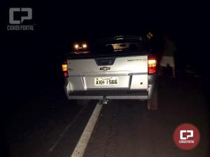 Polícia Rodoviária Estadual prende uma pessoa com embriaguez após acidente na PR-323