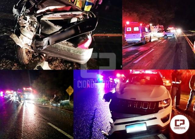 CORREÇÃO: Moradora de Ubiratã perde a vida em acidente na BR-369 na noite de sexta-feira, 28
