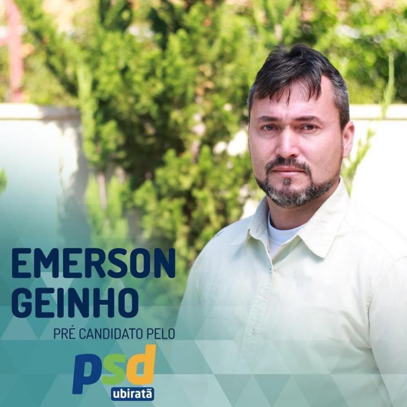 Eu sou Emerson Rogério Teixeira, conhecido popularmente como Geinho - Pré-Candidato a Vereador