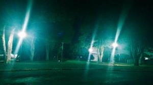 Praça da Rodoviária de Ubiratã recebe nova iluminação