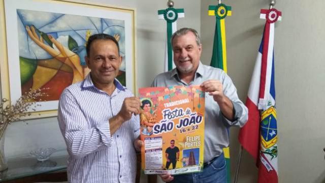 Tradicional Festa de São João em Ubiratã será realizada nos dias 16 e 22 de junho
