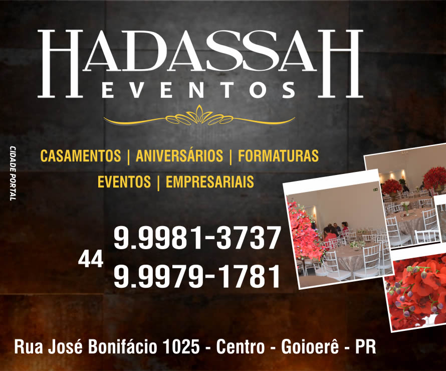 Hadassah Eventos - Mobile Eventos