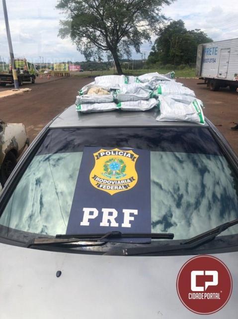 PRF encontra agrotóxicos em fundo falso de automóvel em Santa Terezinha de Itaipu