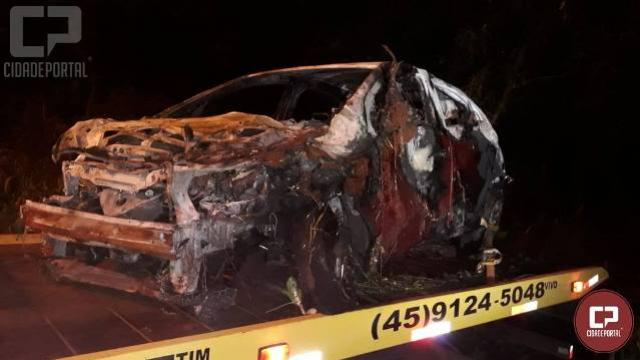 Jovem de 20 anos perde a vida em acidente automobilístico em Toledo