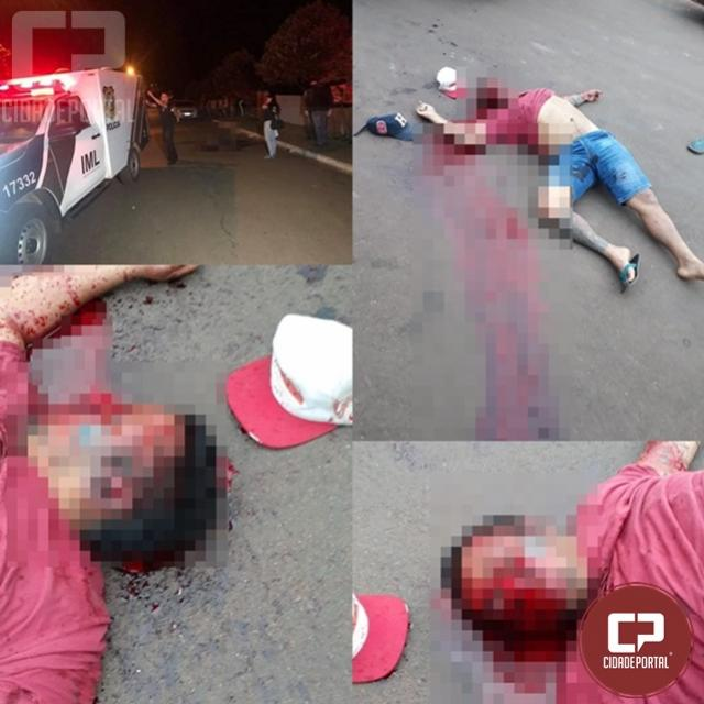 Jovem de 27 anos é executado com diversos tiros em Mariluz