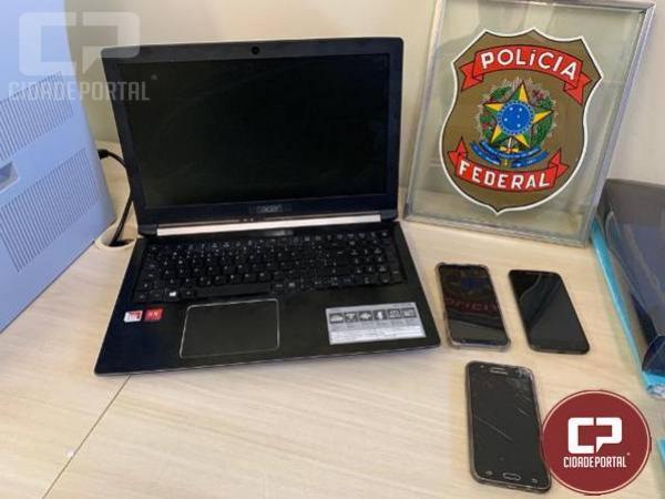 Polícia Federal de Maringá prende em flagrante homem pelo crime de pedofilia