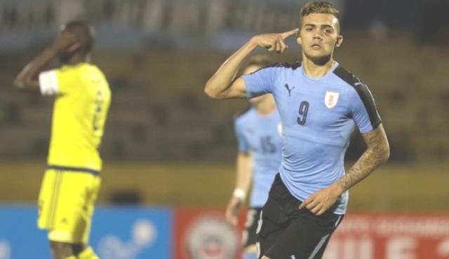 Uruguai vence Colômbia, mantém a ponta e se garante no Mundial Sub-20