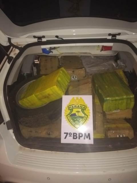 Polícia Militar do 7º batalhão apreende mais de mil kg de maconha