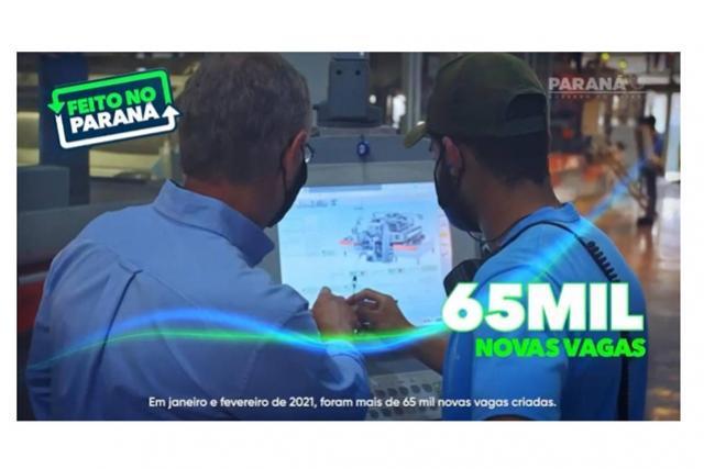Governo do Estado retoma o programa Feito no Paraná para fomentar emprego e renda
