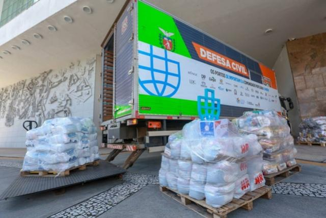 Cesta Solidária Paraná arrecada mais de 200 toneladas de alimentos