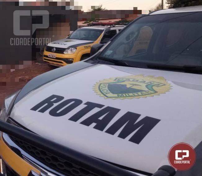 ROTAM da Polícia Militar do 3ª CIPM cumpre mandado de prisão em Loanda
