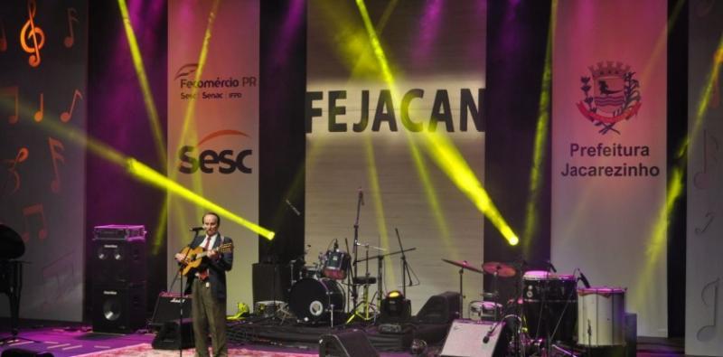 Sesc PR divulga músicas selecionadas para o Fejacan 2018