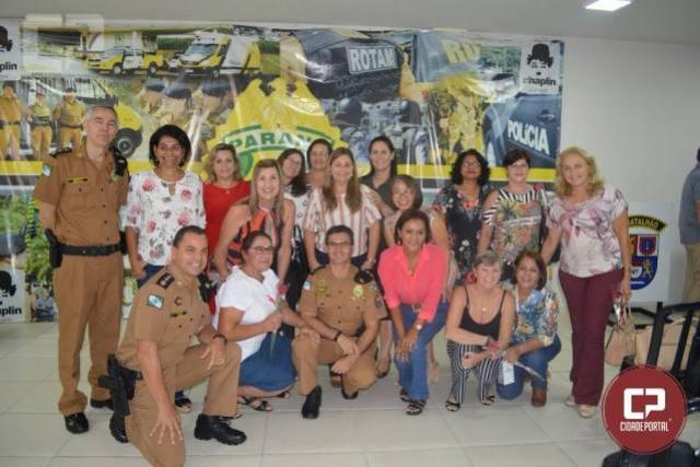 Encontro da velha guarda e homenagem aos 35 anos da 1ª turma de policiais femininas do 4º BPM
