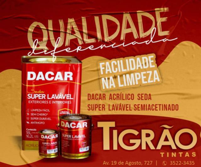 Tigrão Tintas de Goioerê lança promoção imperdível e você não pode ficar de fora dessa!
