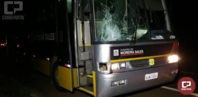 Ciclista perde a vida após colisão com ônibus da Prefeitura de Moreira Sales na BR-272 entre Farol e Campo Mourão