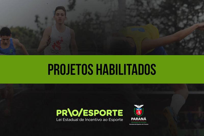 Lei de Incentivo ao Esporte estadual divulga lista de projetos habilitados