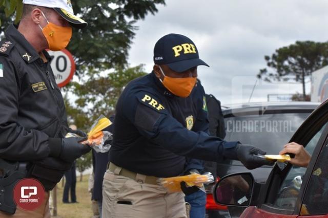 PRF dá início à Operação Rodovida 2020/2021 no Paraná