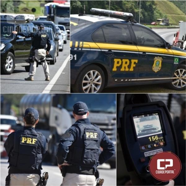 Durante Operação Corpus Christi PRF flagra 188 ultrapassagens proibidas no Paraná