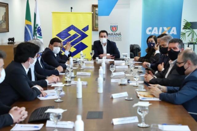 Boas condições do Estado garantem crédito para projetos estruturantes no Paraná
