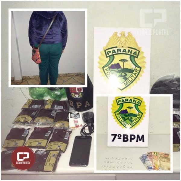 Policiais do 7º BPM apreendem drogas e encaminham 03 pessoas em situações distintas em Cruzeiro