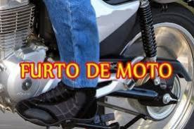 Motocicleta foi furtada na noite deste sábado, 29, em Juranda