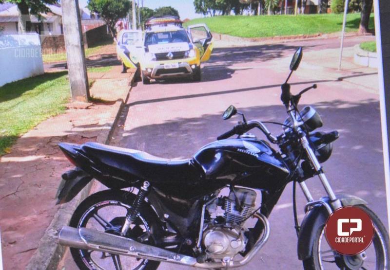 Uma pessoa fica ferida após cair de moto na rodovia entre Moreira Sales e Paraná do Oeste
