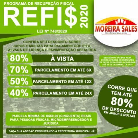 Conheça o Programa de Recuperação Fiscal REFIS 2020