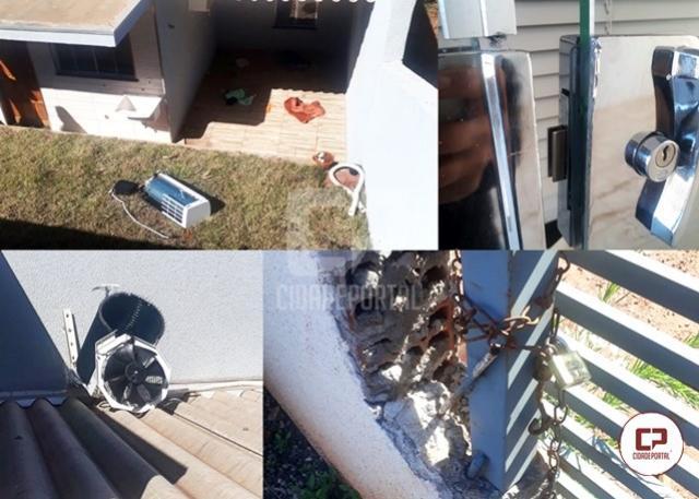 Residência em Moreira Sales foi invadida e furtada nesta quarta-feira, 04