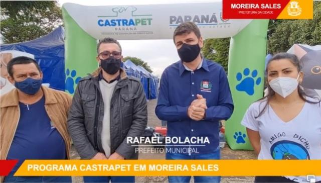 Moreira Sales recebe o Programa CastraPet nesta quinta-feira, 05