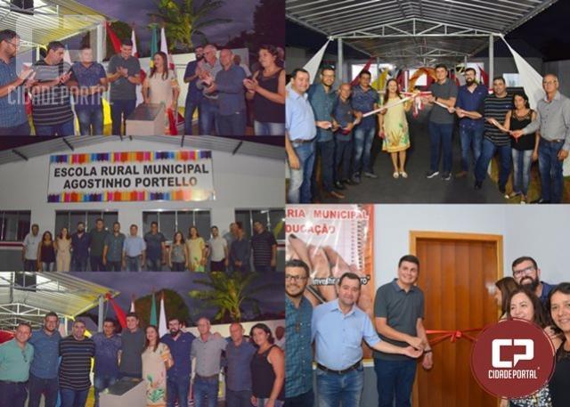 Escola Rural Municipal Agosto Portello é entregue oficialmente à comunidade da Vila Gianello