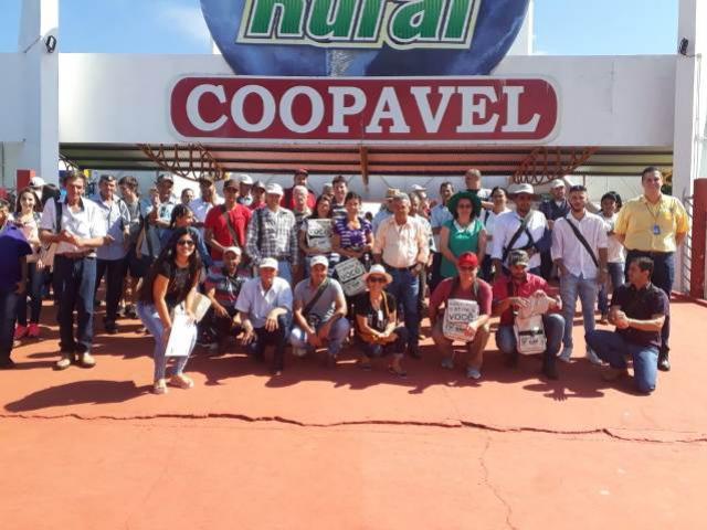 Moreira Sales marca presença no Show Rural em Cascavel