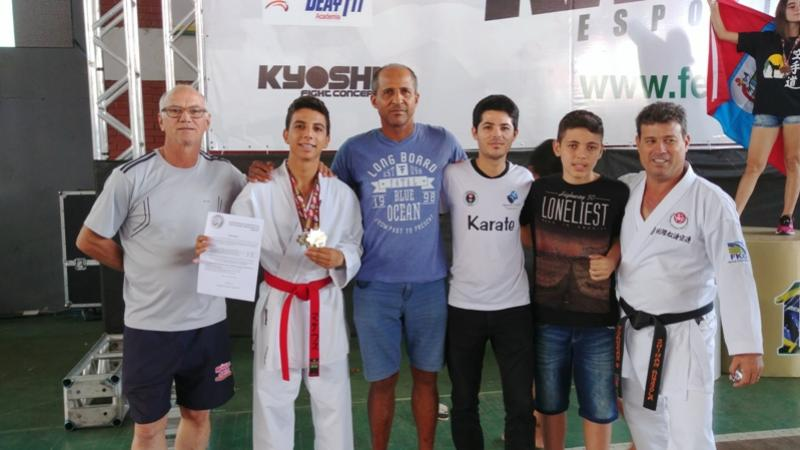 Karateca Moreira-Salense é convocado para Pan-americano em João Pessoa na paraíba
