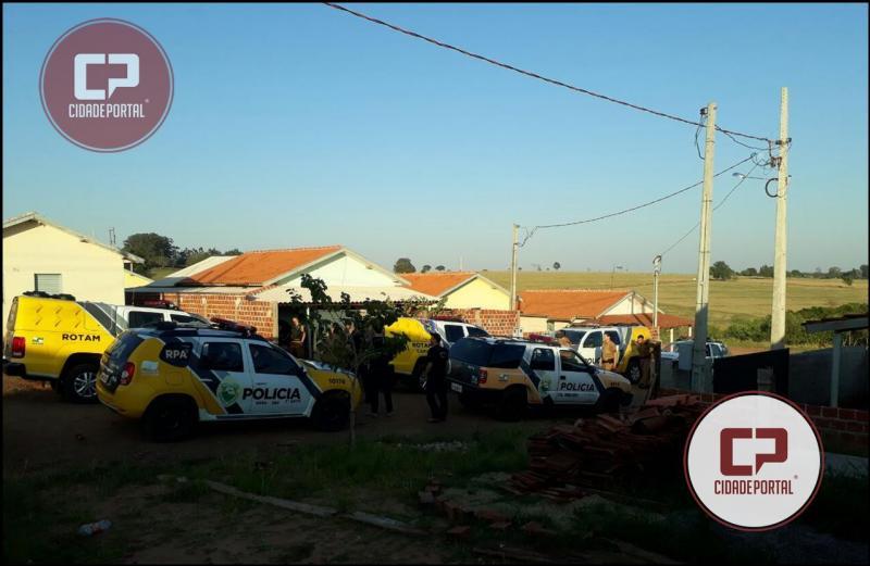 Polícia Militar do 7º BPM apreende armas, munições, celulares, drogas e dinheiro durante operação na cidade de Moreira Sales