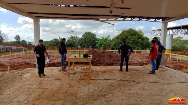 Administração de Moreira Sales inicia a construção da nova Escola do Campo Agostinho Portello