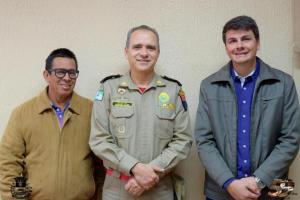 Prefeitura de Moreira realiza reunião com Defesa Civil e comando do Corpo de Bombeiros