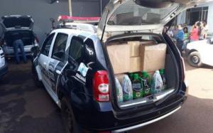 Operação Raio-x apreende carga de azeite de origem argentina na região
