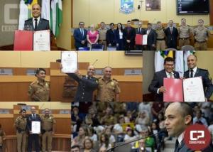 Capitão Gonçalves recebe título de Cidadão Benemérito de Foz do Iguaçu