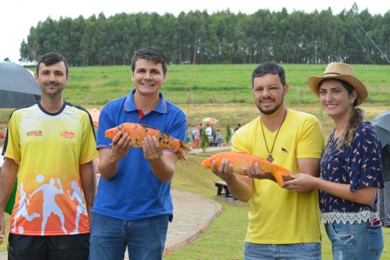 Domingo no Parque reuniu mais de 3 mil pessoas com pesca e atividades em Moreira Sales