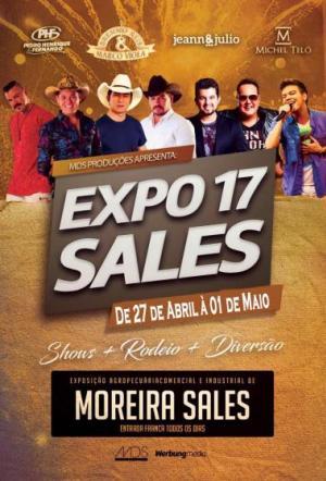 ExpoSales 2017 já tem data marcada e promete com 5 dias de festa, Michel Teló será uma das atrações artisticas