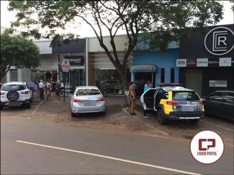 Relojoaria é novamente assaltada durante o dia em Moreira Sales