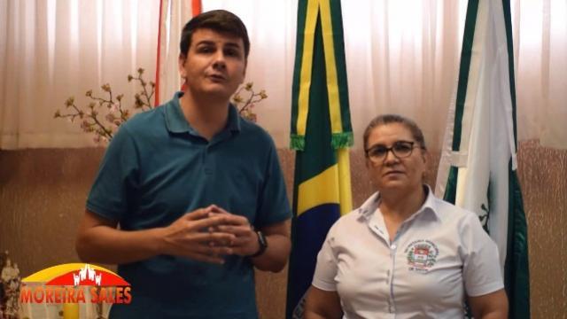 Prefeito Rafael Bolacha emite comunicado oficial sobre crise do CORONAVÍRUS